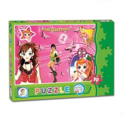 Laço Kids Venüs Kızlar 70 Parça Puzzle